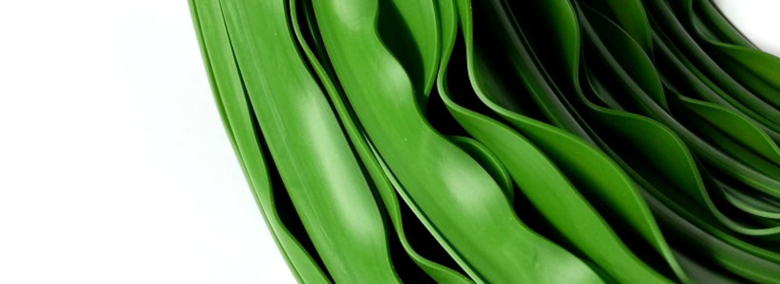Kunststoffkeder grün