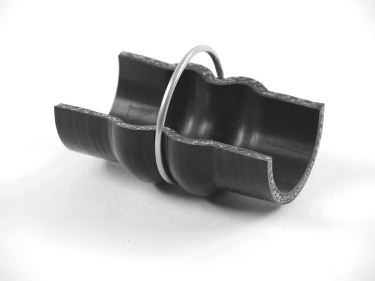 Formschlauch gewebeverstärkt für hohen Druck