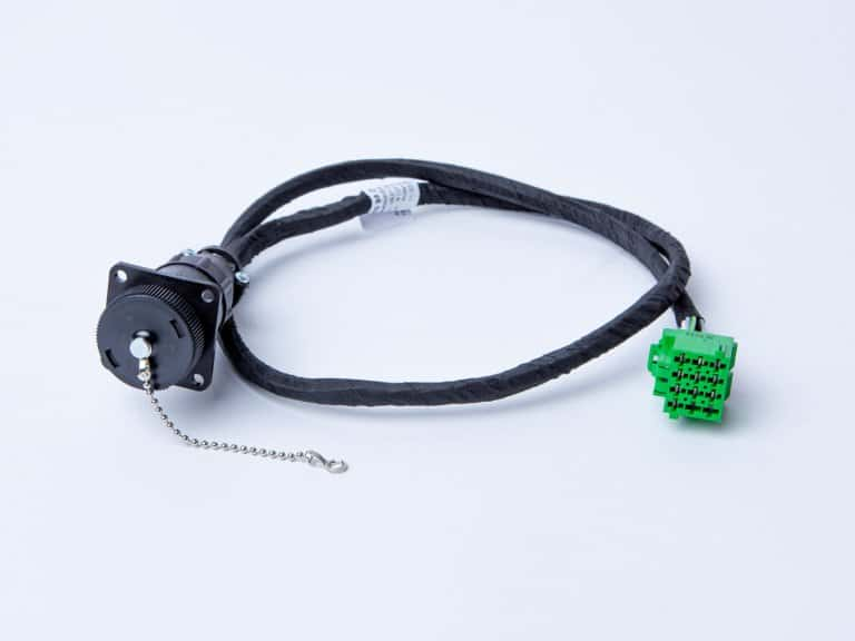 Kabelsatz gewickelt mit Steckdose