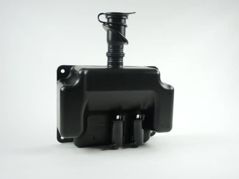 Behälter aus Kunststoff schwarz