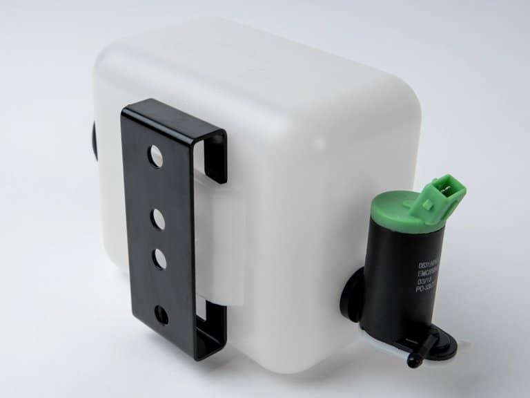 Kunststoffbehälter Befestigung klemmbar
